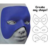 Cut To Shape Blue Mask
