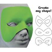 Cut To Shape Green Mask
