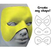 Cut To Shape Yellow Mask