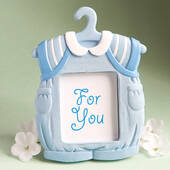 Cute Baby Themed Photo Frame Favors Boy