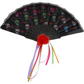 Day Of The Dead Folding Fan