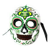 Day Of The Dead Full Face Mask