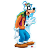 Disney Holiday Goofy Cardboard Cutout