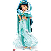 Disney Holiday Jasmine Cardboard Cutout