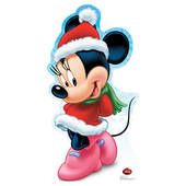 Disney Holiday Minnie Mouse Cardboard Cutout