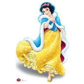 Disney Holiday Snow White Cardboard Cutout
