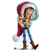 Disney Holiday Woody Cardboard Cutout