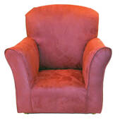 Dusty Rose Toddler Rocker - Microfiber Rocking Chair