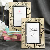 "Gold ""Prom"" Picture Frame"