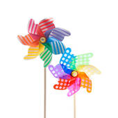 Jumbo Polka Dot Or Striped Pinwheel