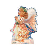 Little Christmas Angel Dona Gelsinger Cardboard Cutout