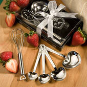 Measuring Spoon And Whisk Favor Sets