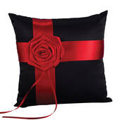 Midnight Rose Pillow