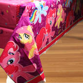 My Little Pony Plastic Table Cover - Rectangle
