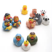 Nativity Rubber Ducks