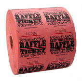 Pink Raffle Tickets