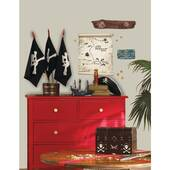 Pirates Map And Signs Peel And Stick Giant Decal