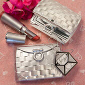 Pocketbook-Design Mirror Compact Favors