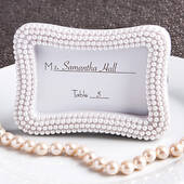 Pretty Place Card Photo Frames