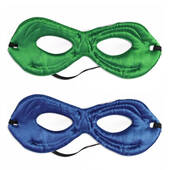 Reversible Green Or Blue Superhero Mask