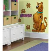 Scooby Doo Peel And Stick Giant Wall Decal