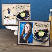 "Softball Picture Frame 4"" by 6"" Photo"