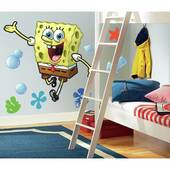 Spongebob Peel And Stick Giant Wall Decal