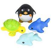 Squish Sealife Assortment - 3""