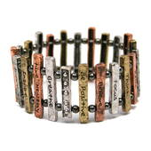 Stay On Track Train Track Bracelet