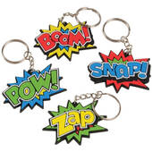Superhero Key Chains
