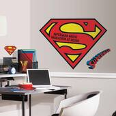 Superman Logo Dry Erase Giant Decal