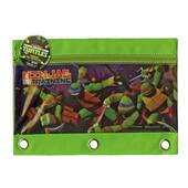 Teenage Mutant Ninja Turtles 3 Ring Pencil Pouch
