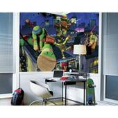 Teenage Mutant Ninja Turtles Cityscape Chair Rail
