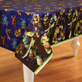 Teenage Mutant Ninja Turtles Plastic Table Cover - Rectangle