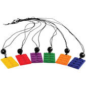 Toy Building Block Necklaces