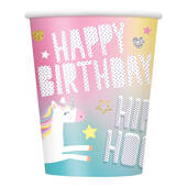 Unicorn 9oz Hot Cold Cups