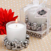 Unique Baby-Themed Candle Favors