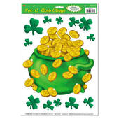 Pot-O-Gold Window Clings