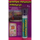 Purple Window Paint Marker