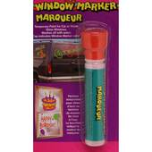 Red Window Paint Marker