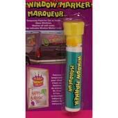 Yellow Window Paint Marker