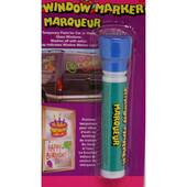 Blue Window Paint Marker