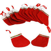 "4"" Mini Felt Christmas Stockings"
