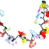 Light Up Flower Lei Garland