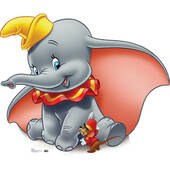 Dumbo Lifesized Standup