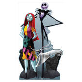 Jack And Sally Lifesized Standup