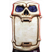 Skull Signboard Lifesized Standup