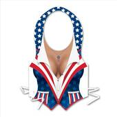 Red White And Blue Woman's Patriotic Vest