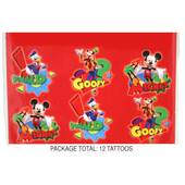 Mickey Mouse Clubhouse Temporary Tattoos