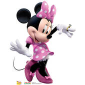 Minnie Hot Dog Dance Lifesized Standup